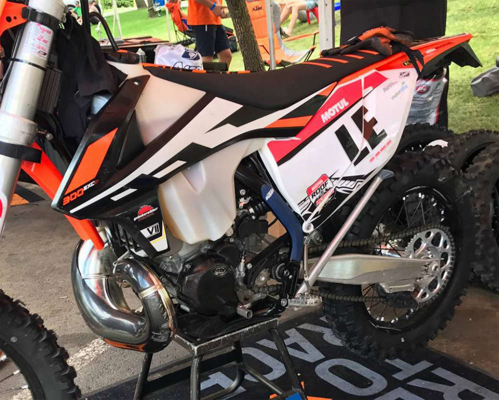 Spy Photos: KTM's Fuel Injection Two Strokes