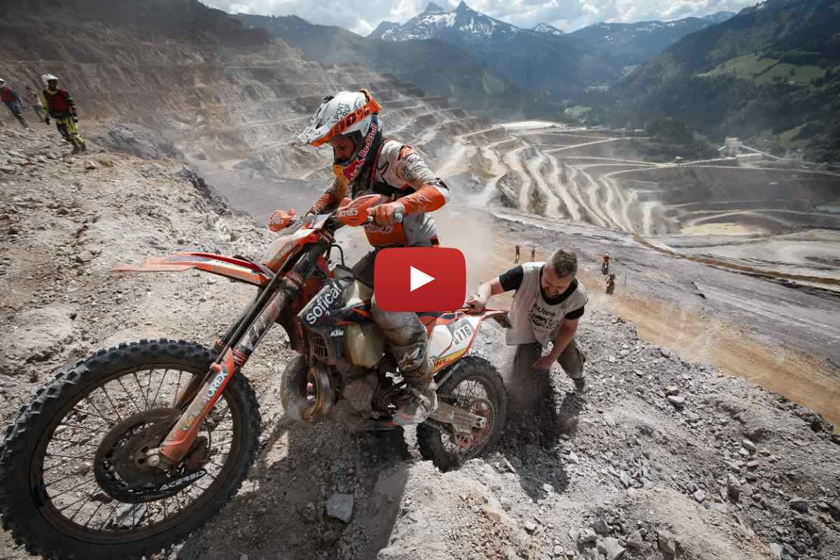 WESS diaries – Laia Sanz and Kevin Gallas vs Erzberg's Iron Giant