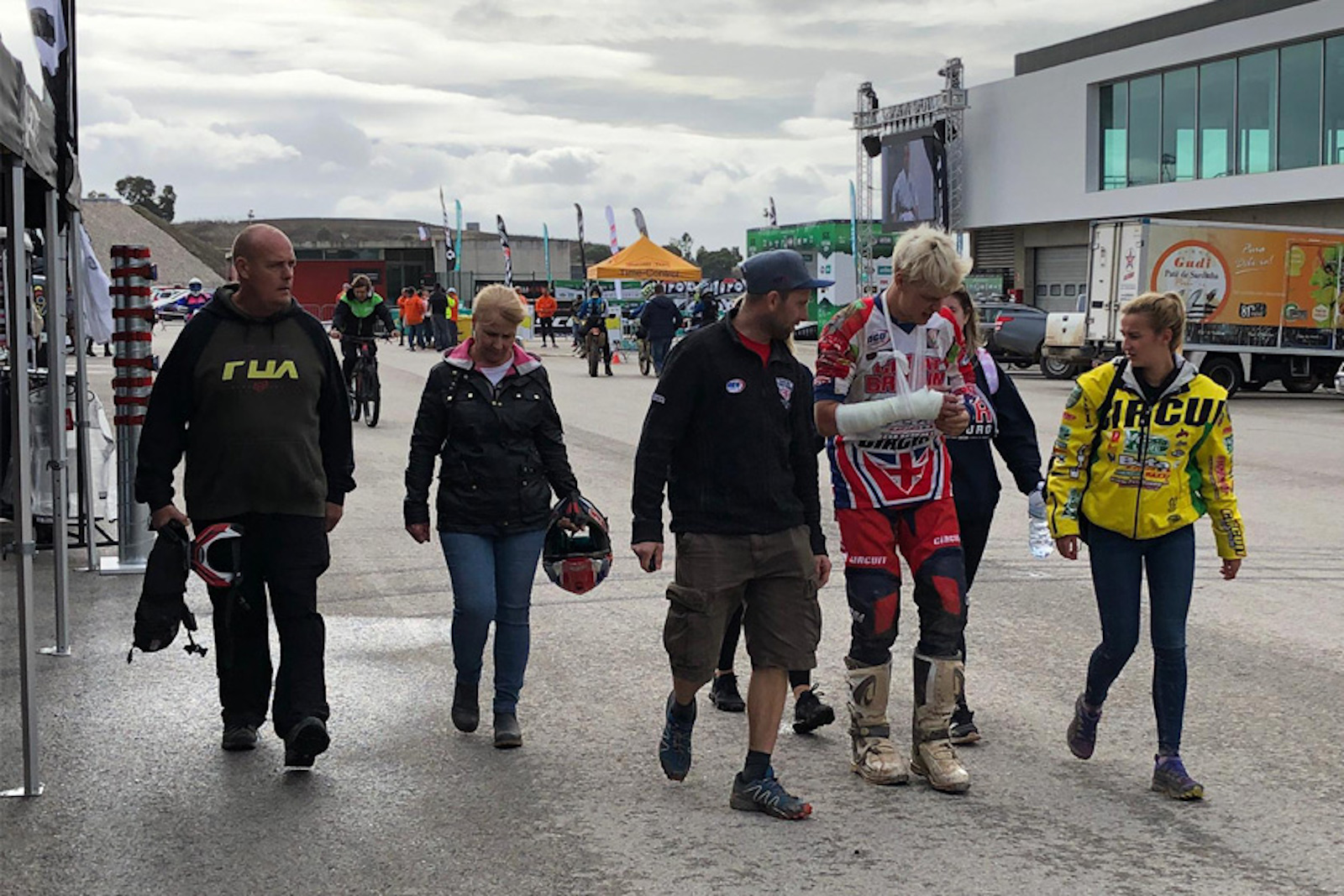Brad Freeman Crashes Out of 2019 ISDE