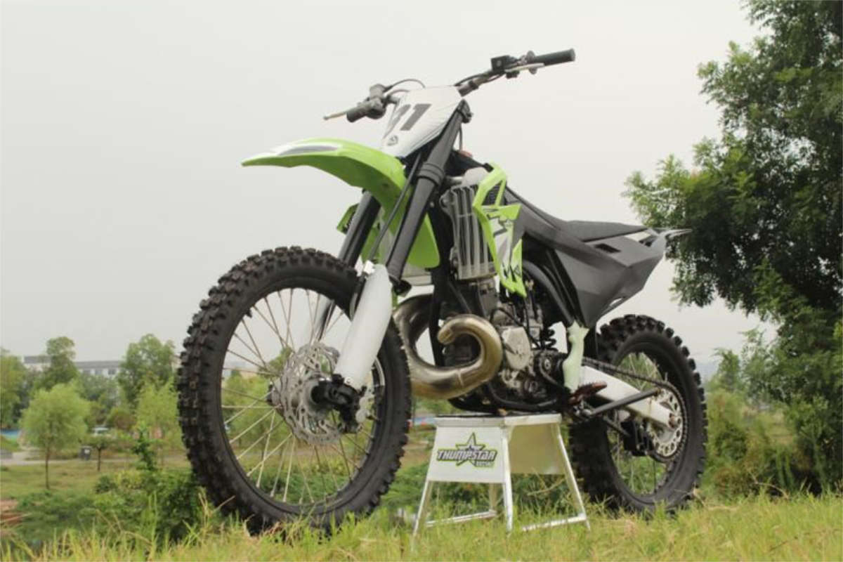 First Look: new Thumpstar 250 and 300 two-stroke off road motorcycles