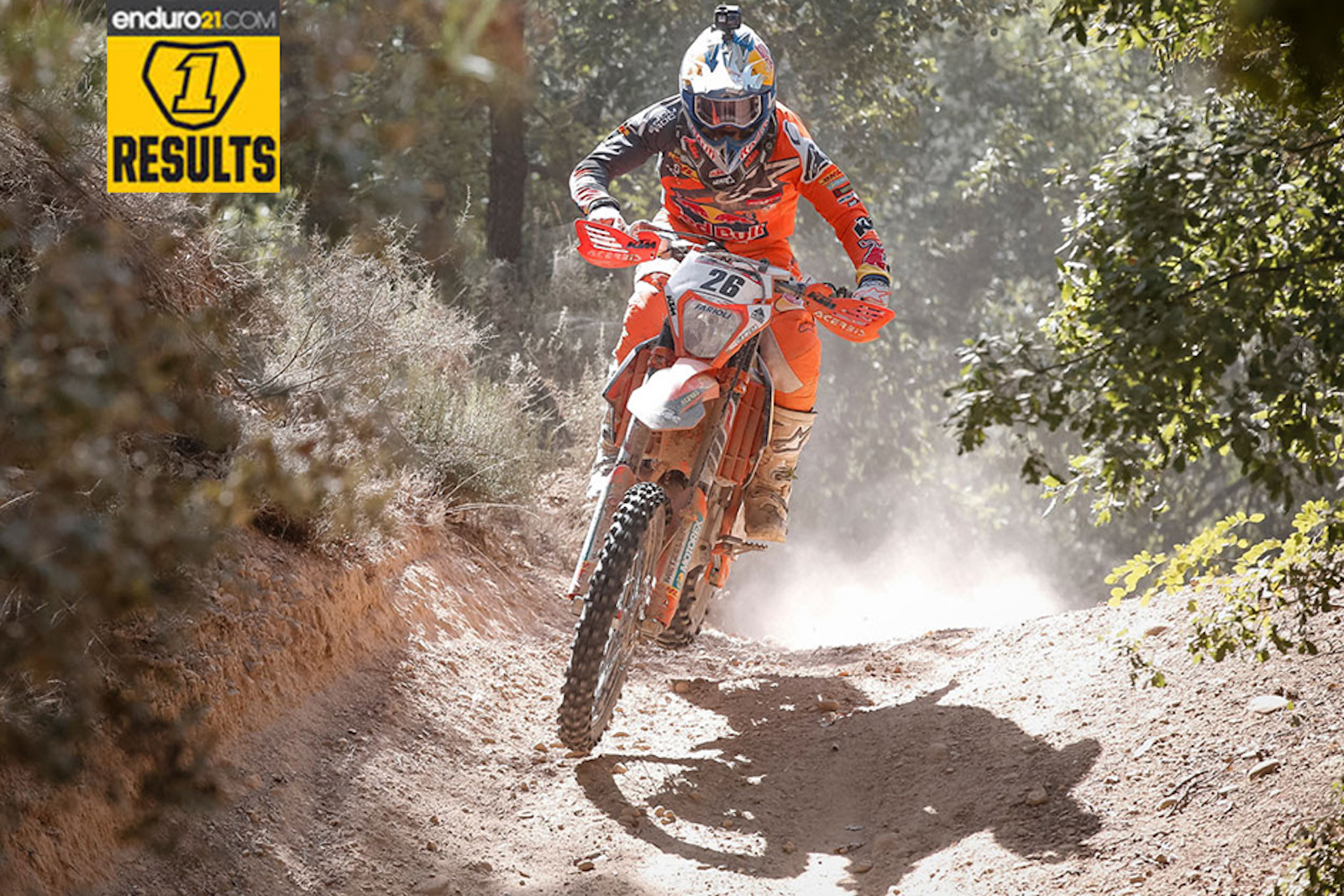Results feed: WESS win for Josep Garcia on opening day at BR2 Enduro Solsona