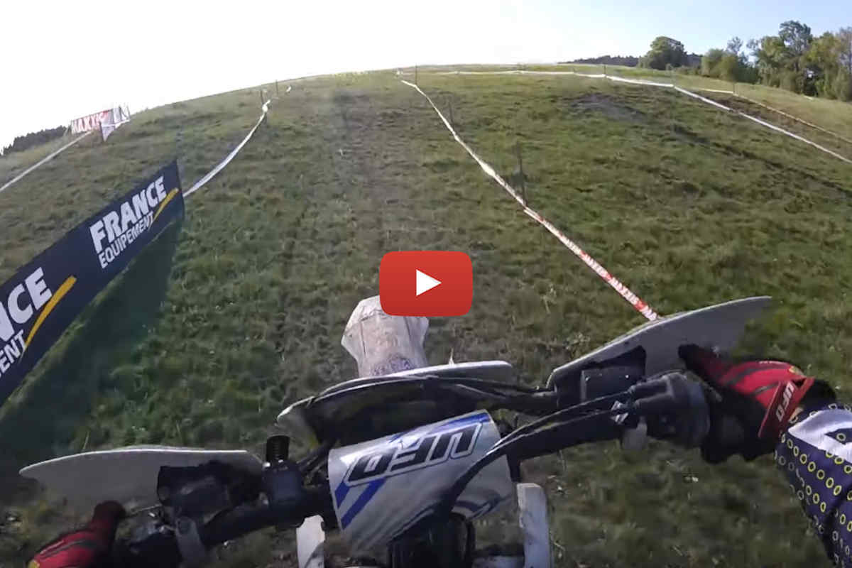 EnduroGP Cross Test track POV preview in Ambert, France