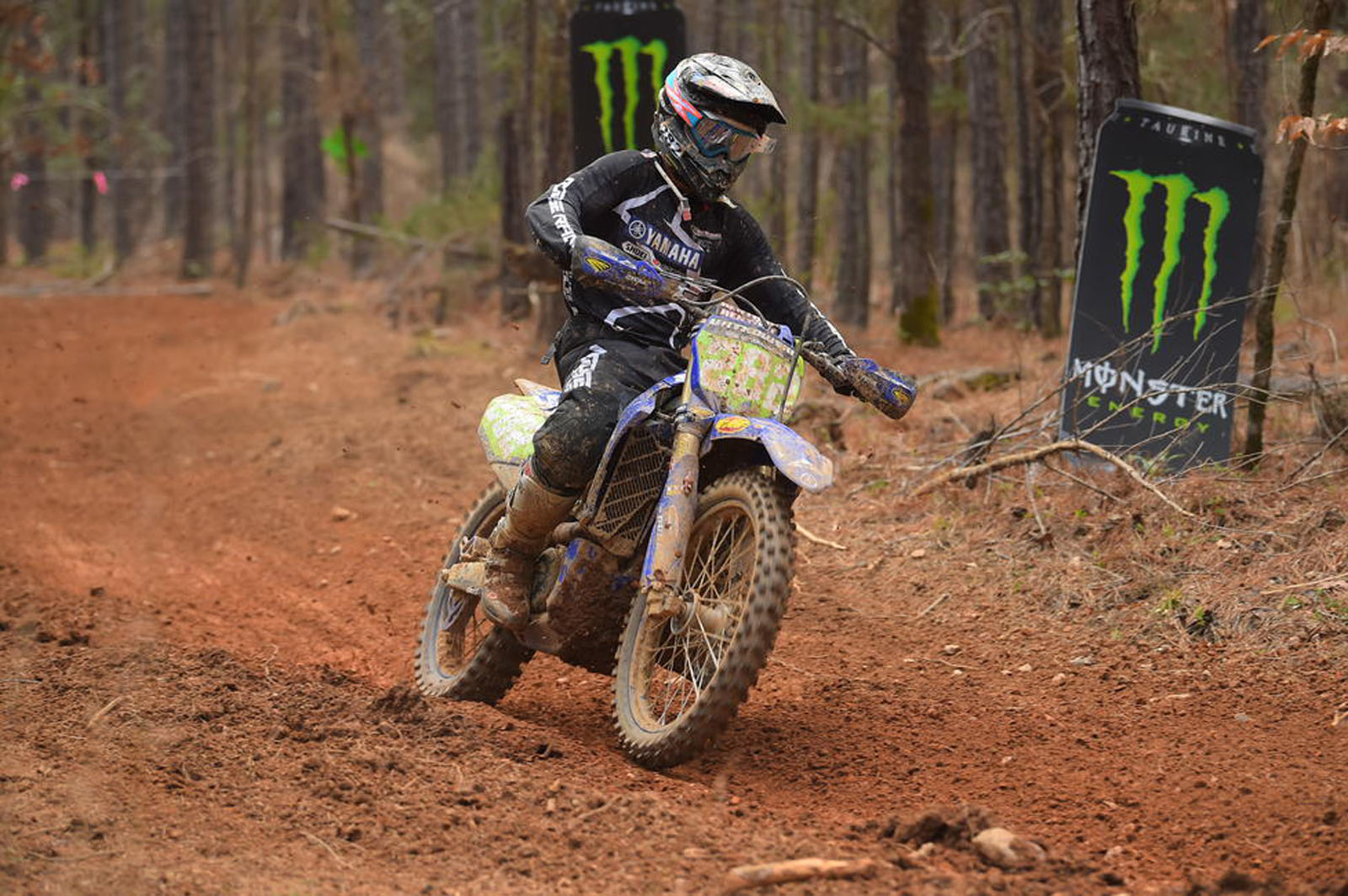 Jeremy Girroir back in GNCC action