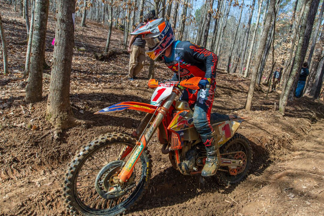 Dominant GNCC round 1 win for Russell