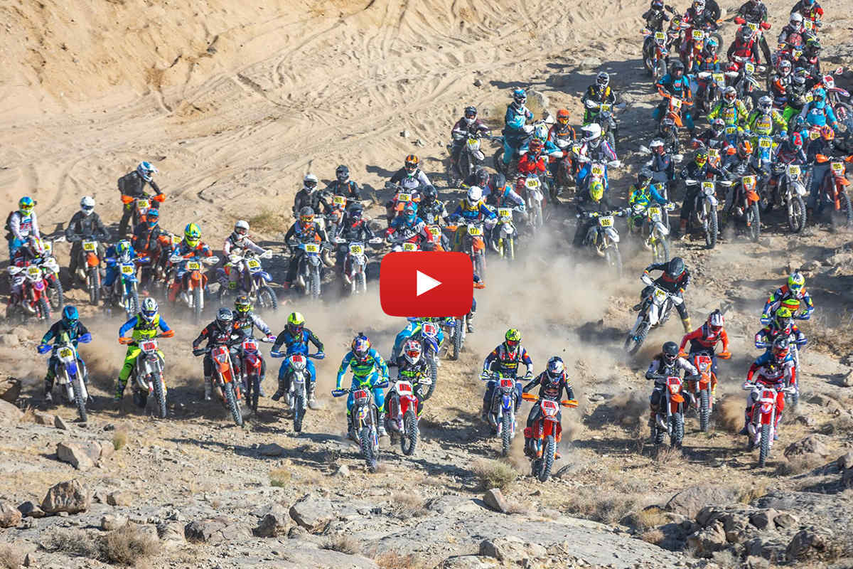 Event Highlights: 2020 King of the Motos – Webb wins tough AMA West Extreme round 1