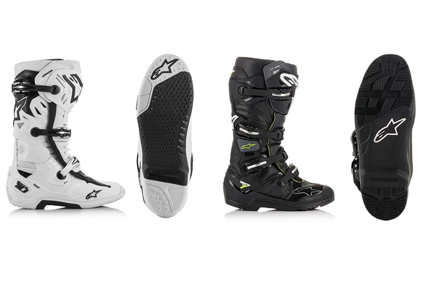 First look: Alpinestars vented Tech 10 and Waterproof Tech 7 Enduro boots