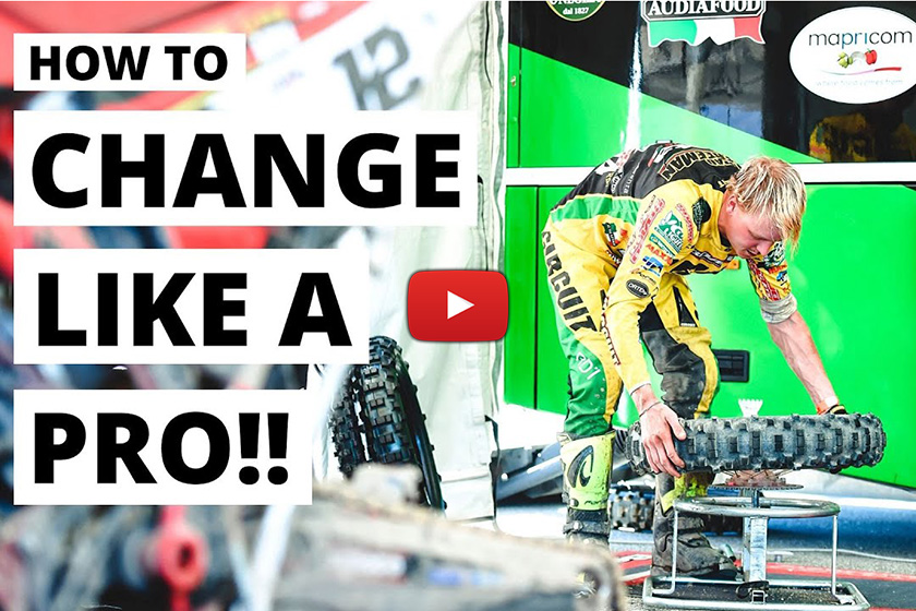 How To: Change enduro tyres and mousses like a pro