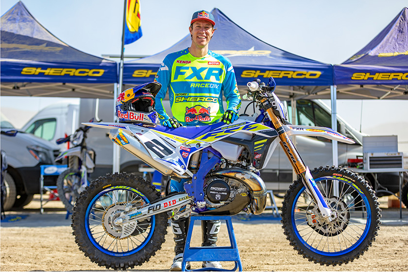 Cody Webb to race GNCC for Sherco