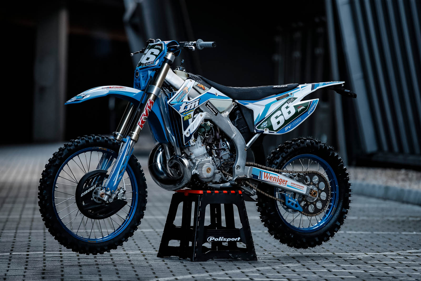 My ride: TY Cullins' SuperEnduro TM Racing 300cc two-stroke
