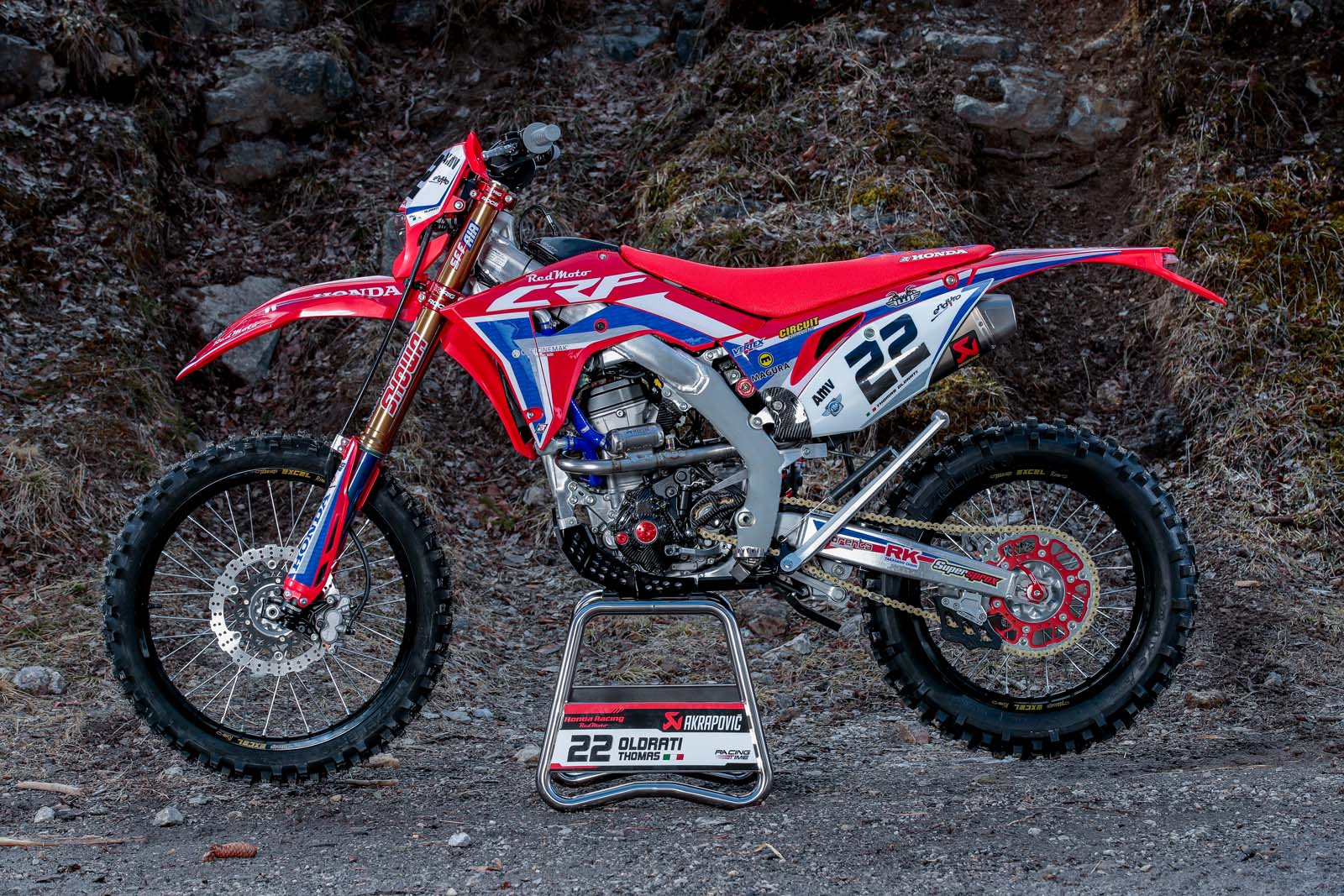 My Ride: Thomas Oldrati's 2020 RedMoto Honda CRF250RX