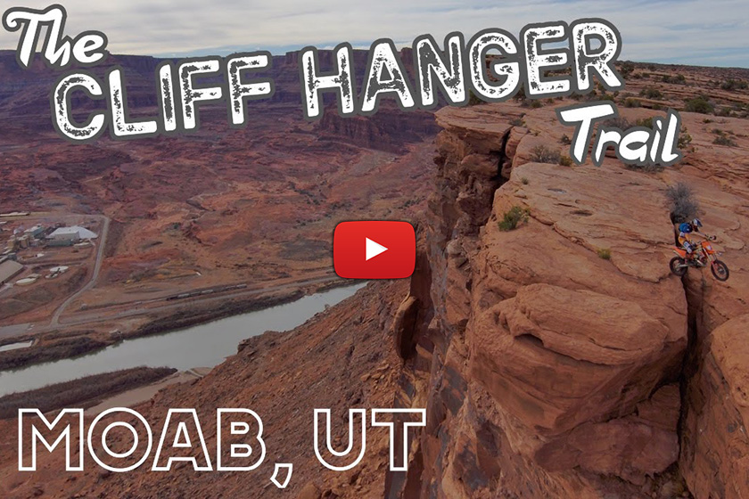 World's most dangerous off road trail? The infamous Cliffhanger, Moab, USA
