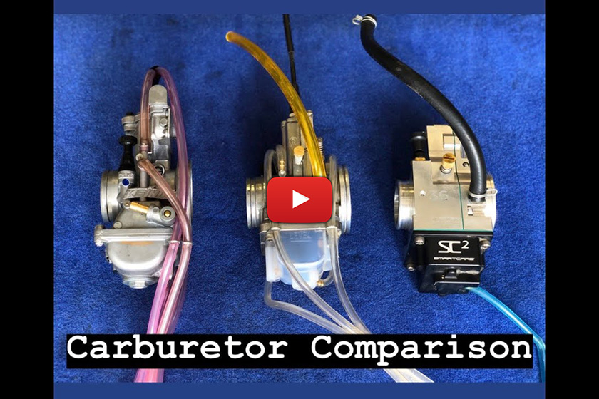 Cody Webb's two-stroke carb' clinic – Keihin vs Lectron vs SmartCarb