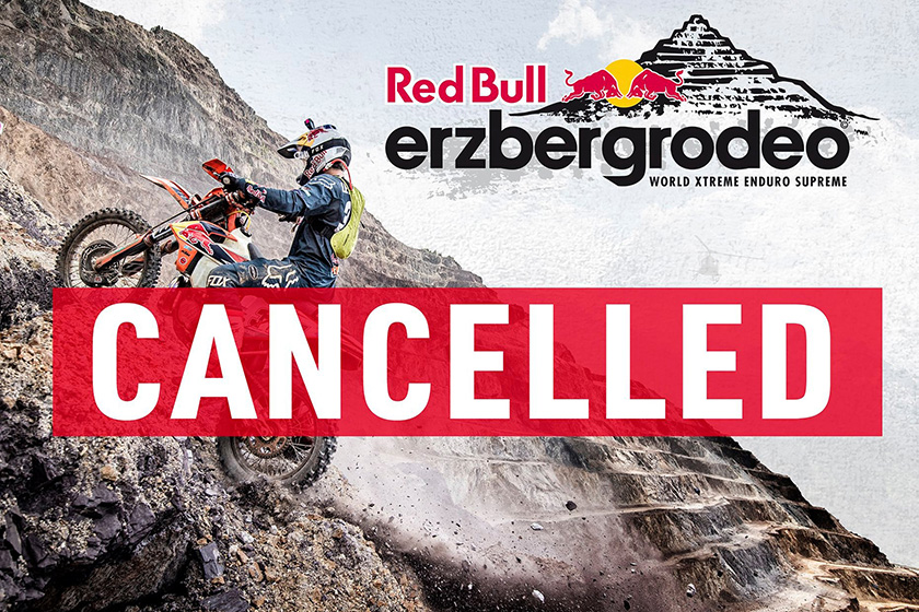 Red Bull ErzbergRodeo 2020 cancelled