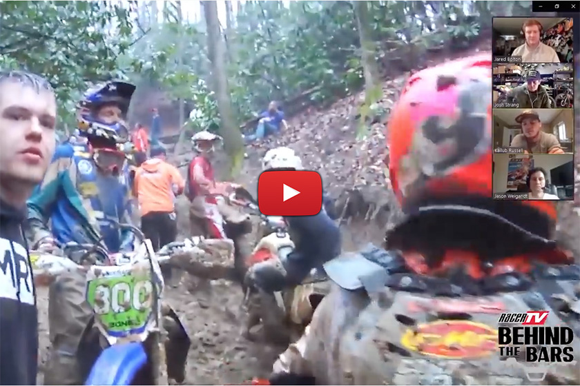 GNCC Throwback – Russell and Strang on that 2010 Steele Creek mudder