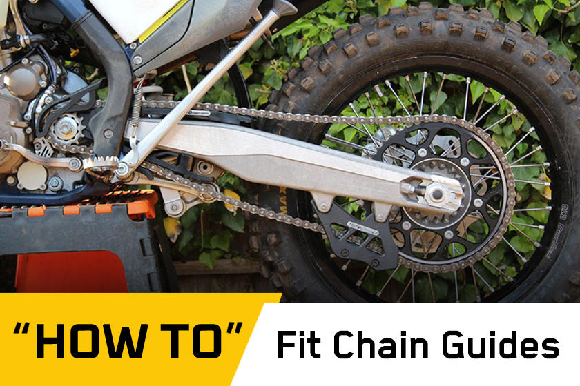 How To: Fit TM Designworks Slide n Glide chain guide kit