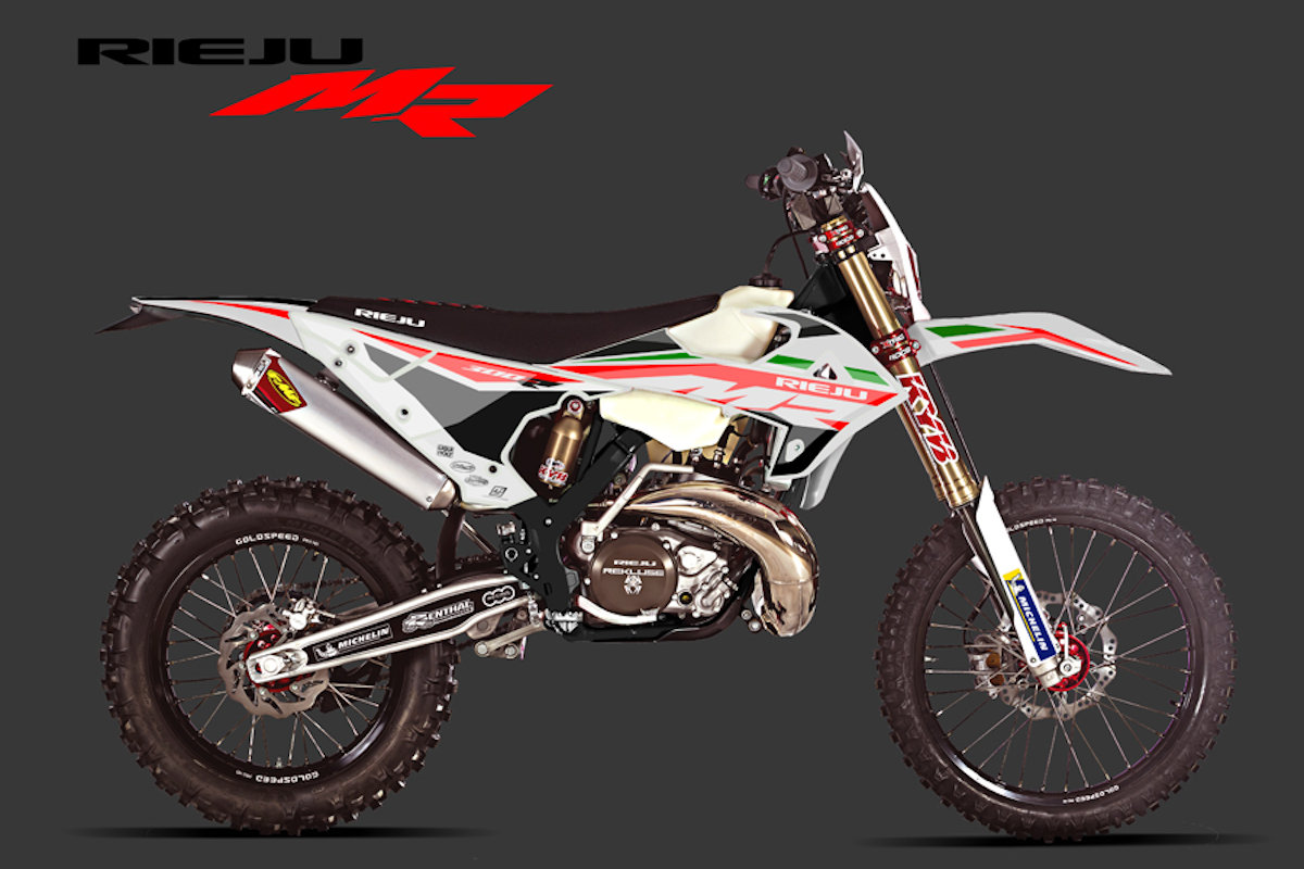 First Look: Rieju enduro range 2021