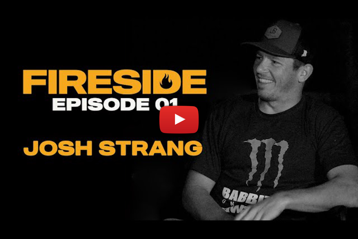 Interview: Fireside Show with Josh Strang – Racing, Russell and crazy GNCC fans