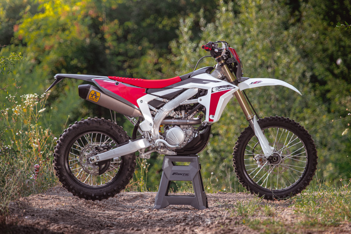 First look: Fantic XEF 250 four-stroke