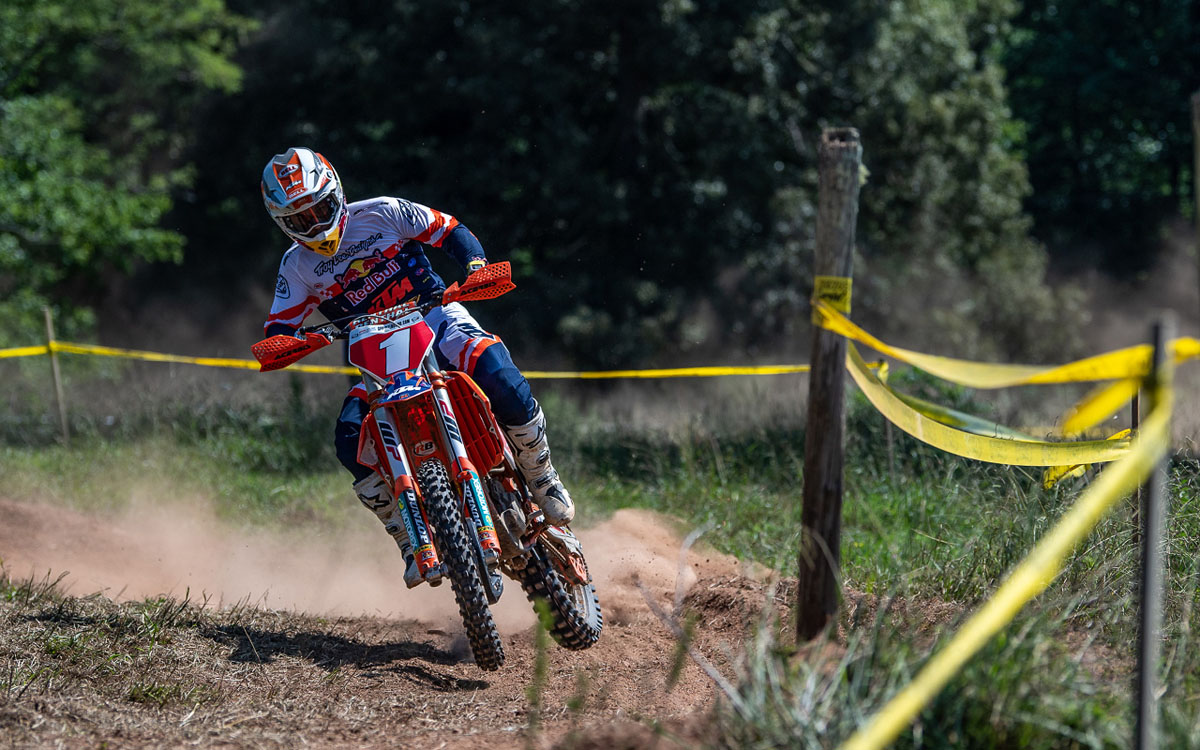 Kailub Russell bags the overall at Full Gas Sprint Enduro Rnd3 after a flawless ride on Saturday