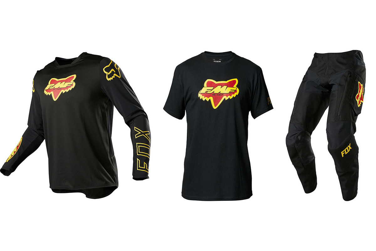 New Fox X FMF collection