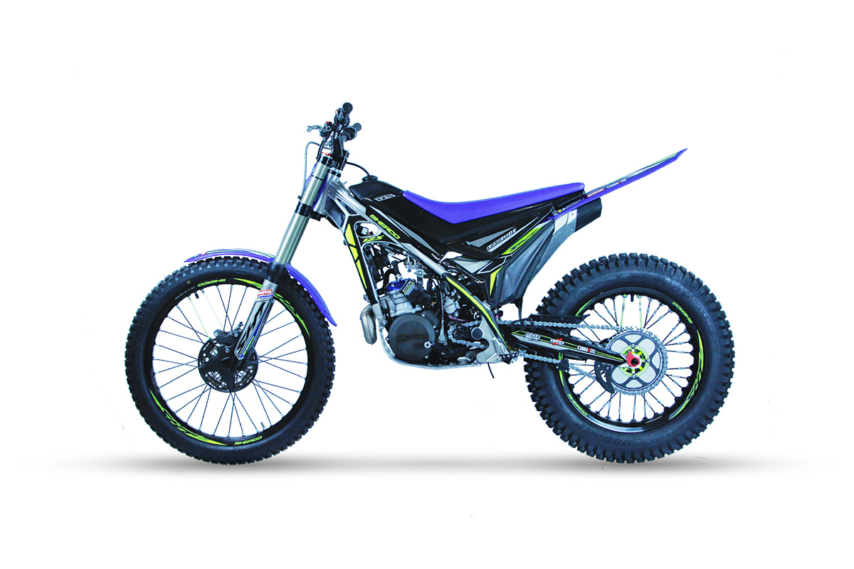 New 'Long Ride' fuel tank kit for Sherco trials bikes
