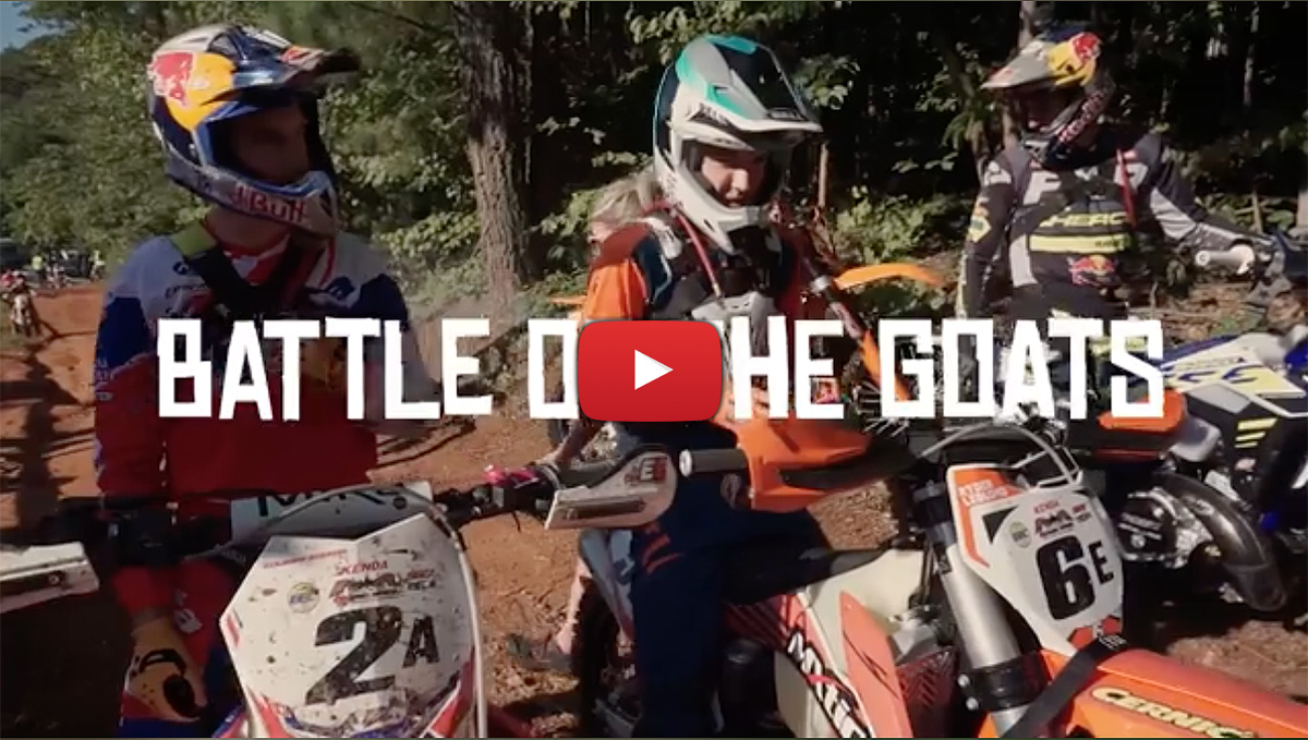 Video highlights: Battle of Goats Extreme Enduro