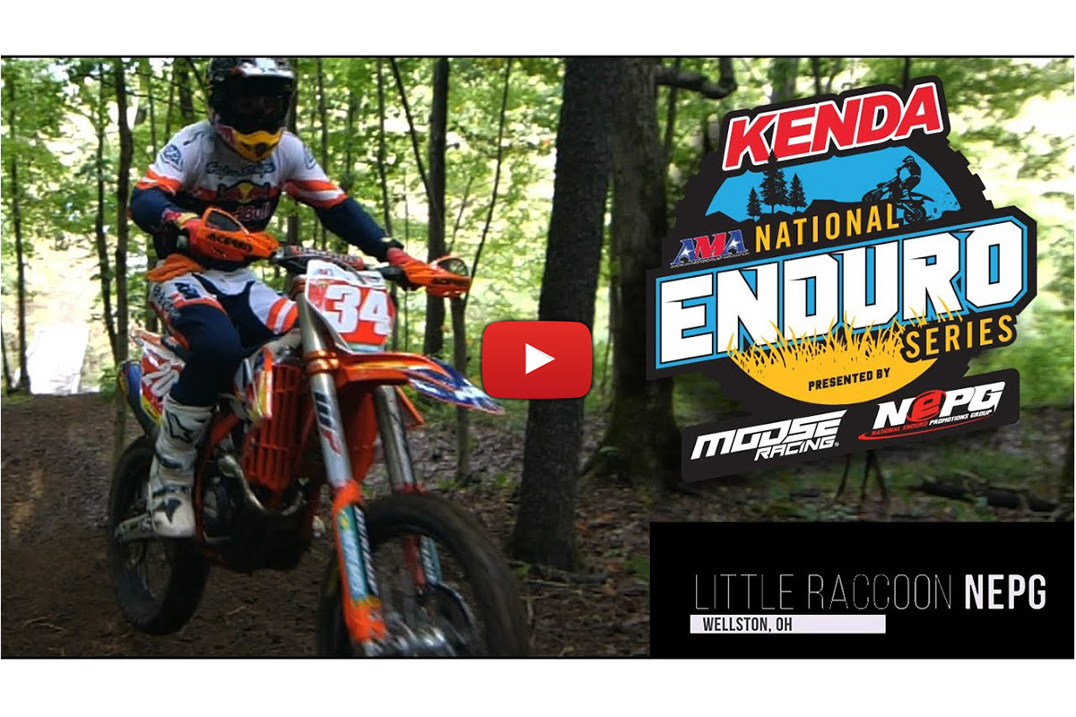 Video Destacado: Little Raccoon, 4ª prueba del 'National Enduro' en Estados Unidos