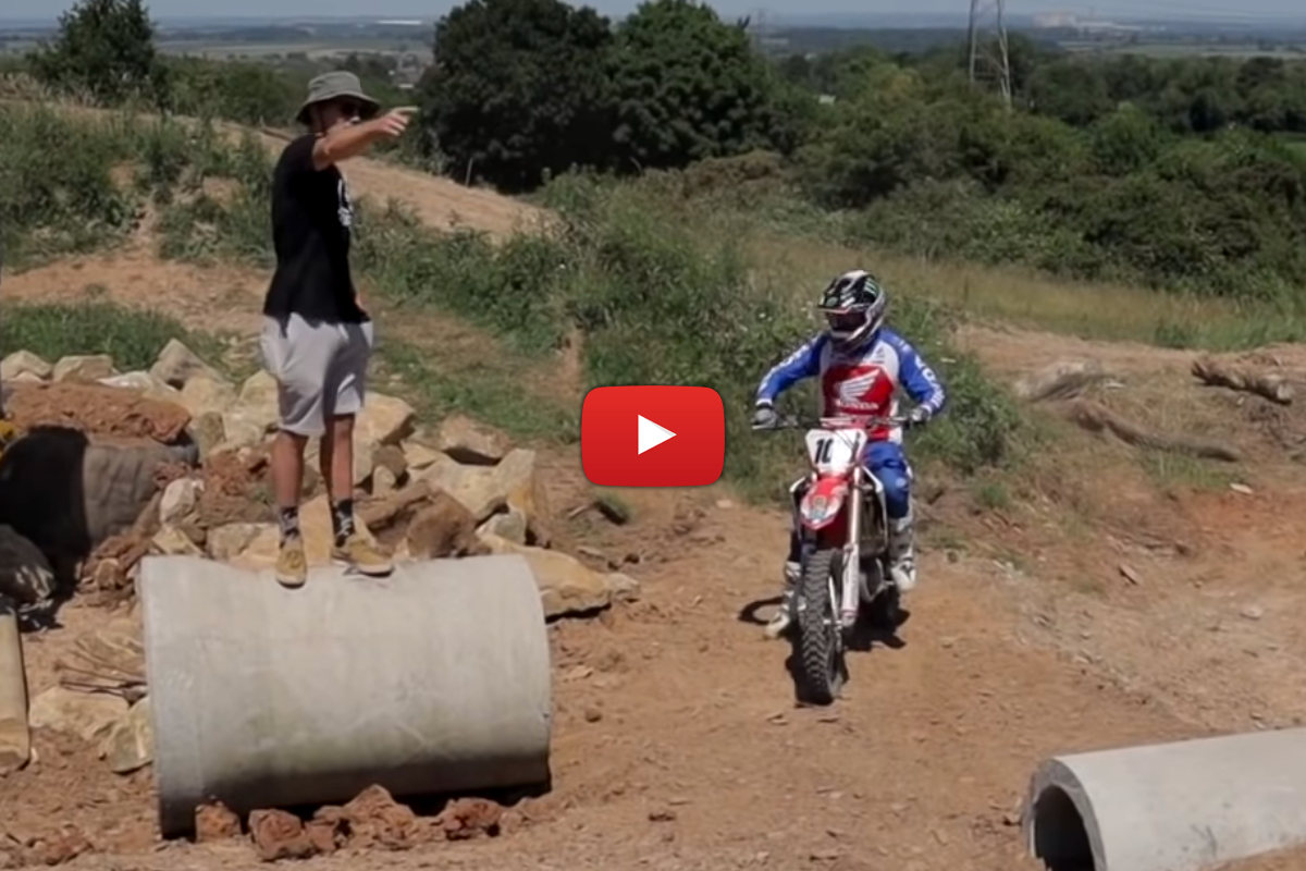 Vlog: Tommy Searle has a go at Billy Bolt's SuperEnduro track