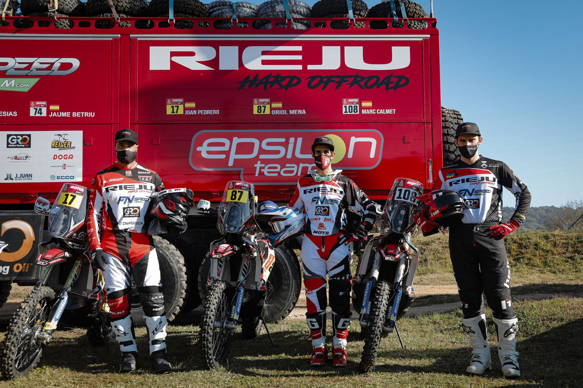 Rieju heading to Dakar 2021? The inside line from the Spanish manufacturer