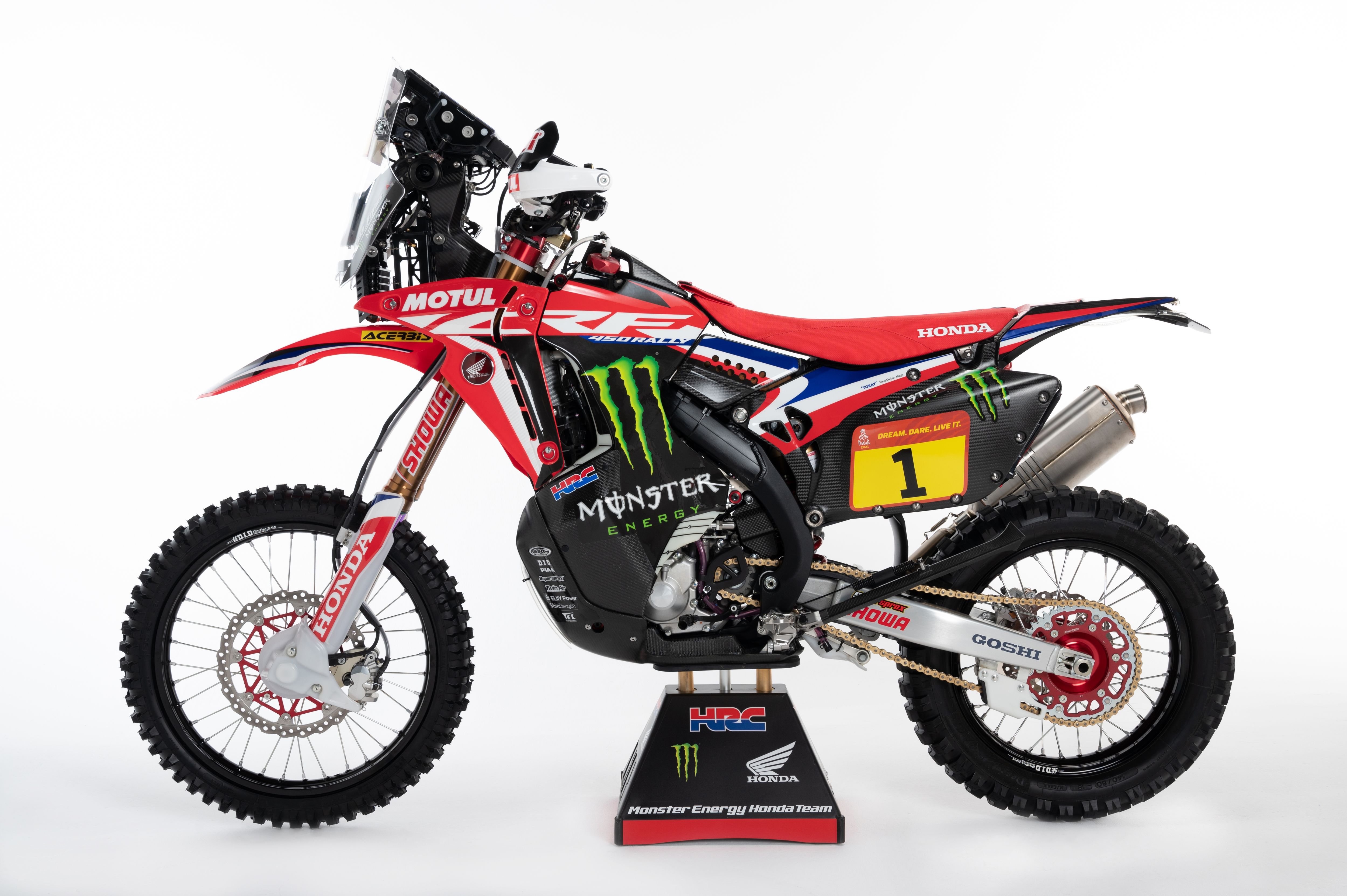 Bikes of the 2021 Dakar Rally
