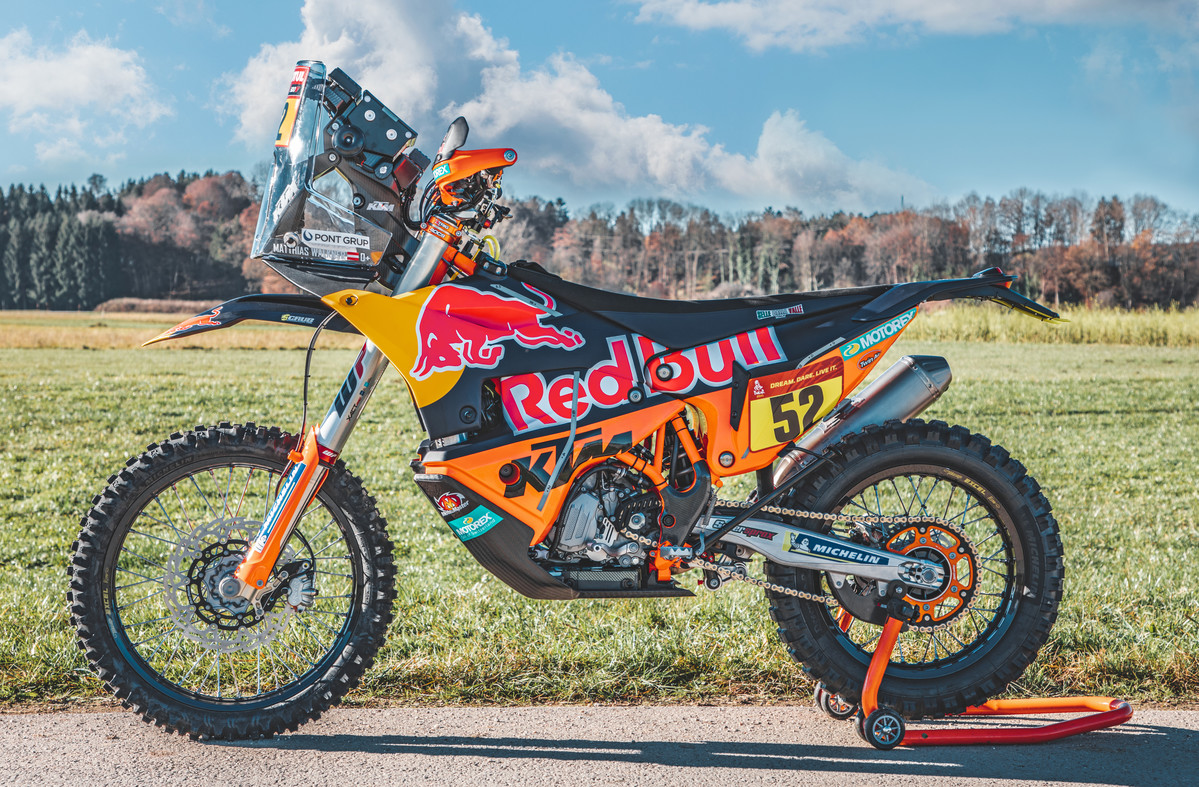 Bikes Of The 2021 Dakar Rally