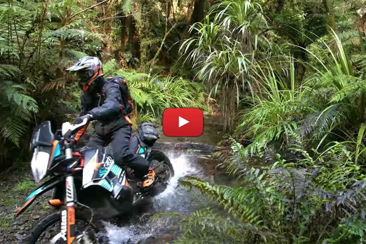 KTM Adventure Bikes – Kiwi trail ride goals with Chris Birch