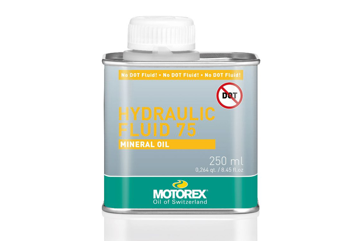 Motorex Hydraulic Fluid 75 for MTB and road cycles