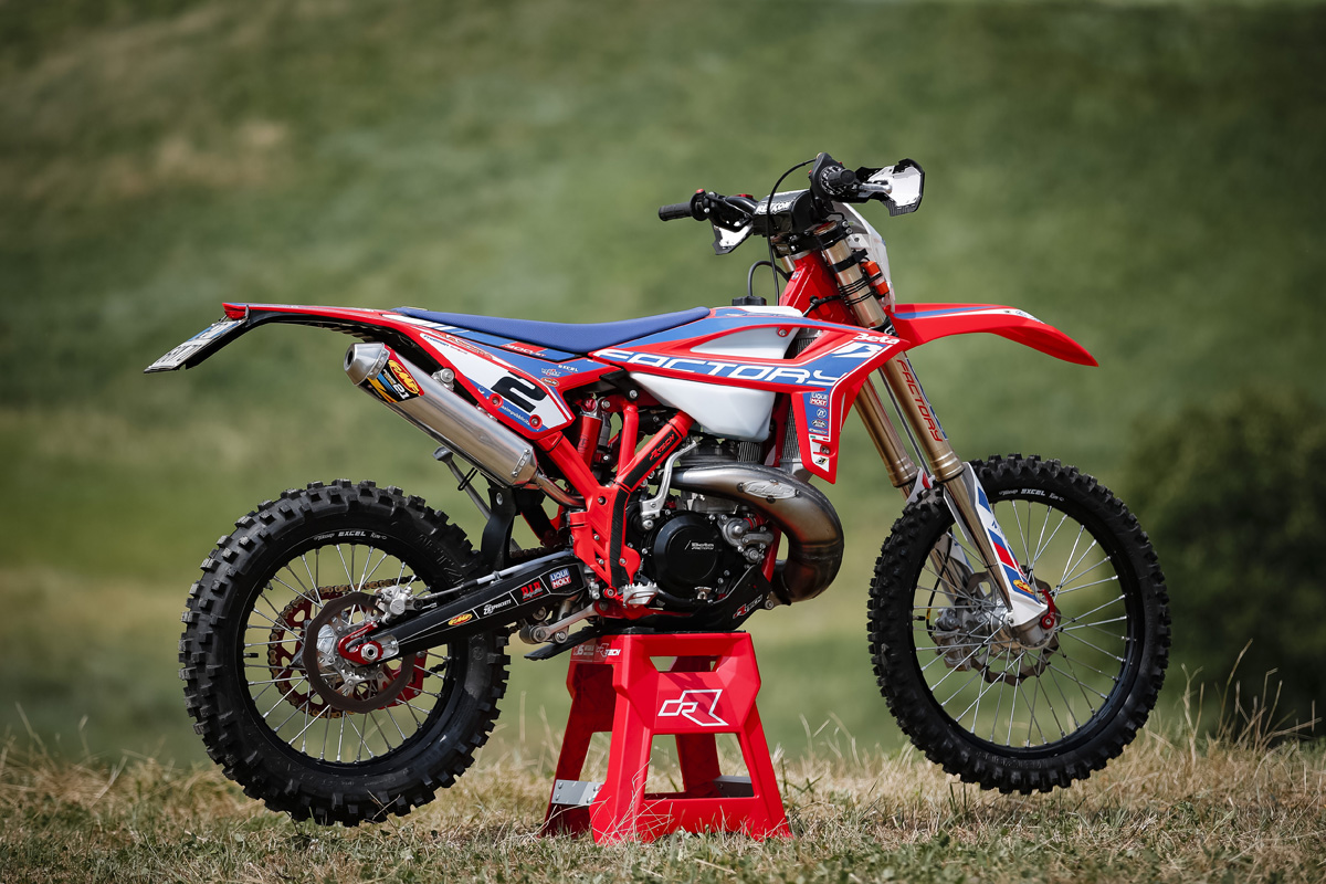 Pro Bike: Brad Freeman's Beta RR Racing 300 2T