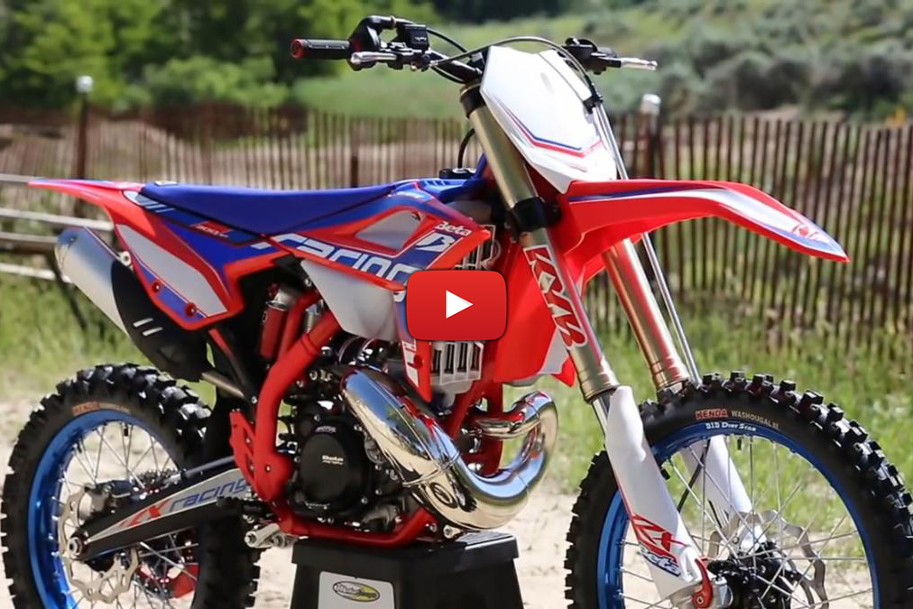 Beta enter motocross market with 300cc two-stroke