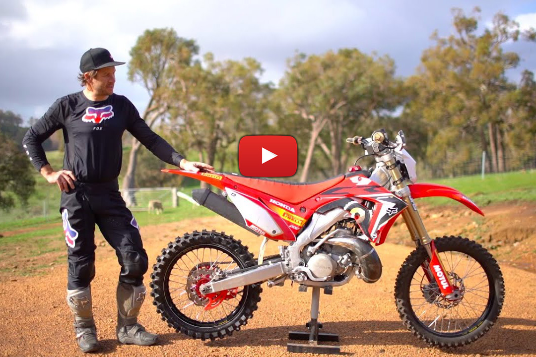 How to: Convert a motocross bike for enduro
