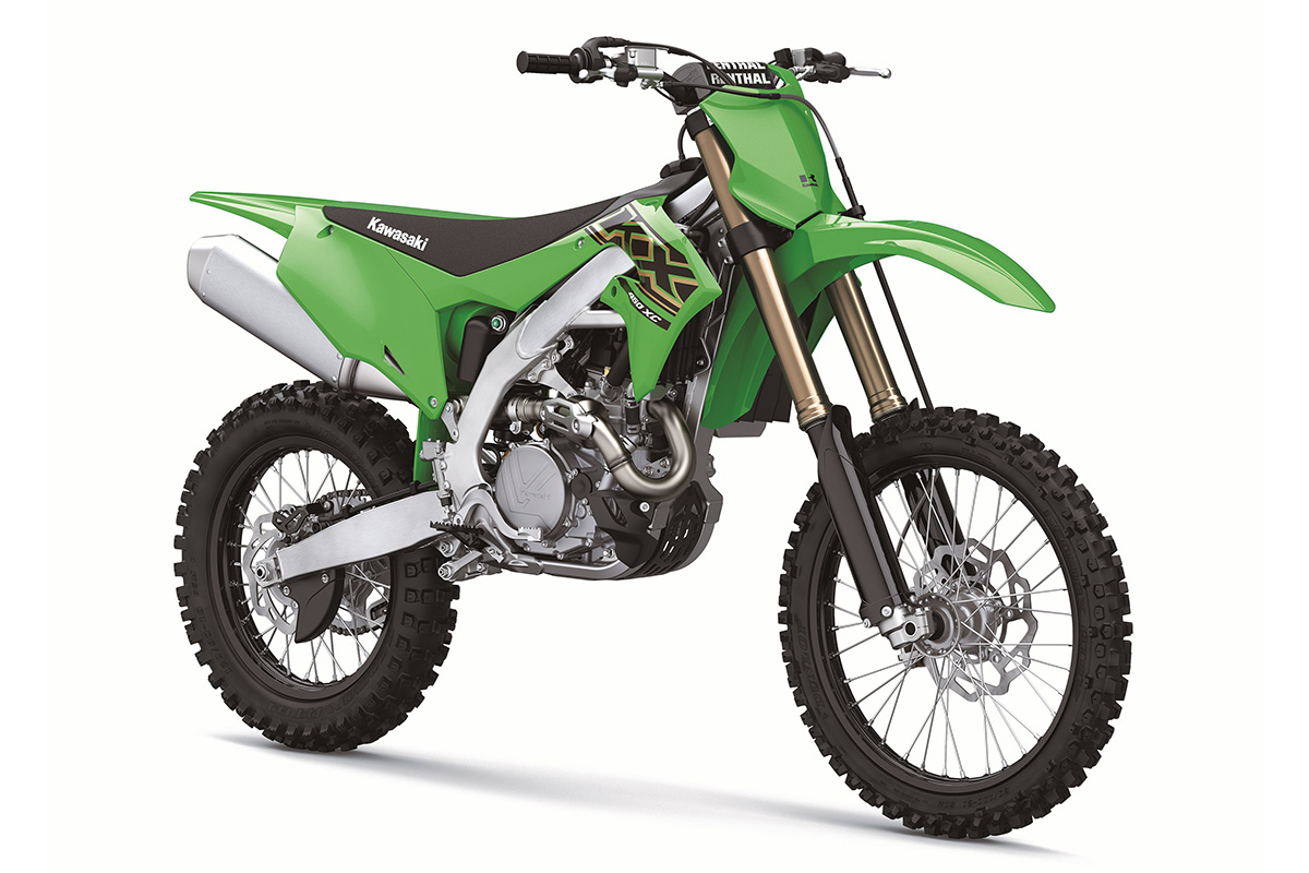 New Kawasaki XC cross-country models now available in Europe