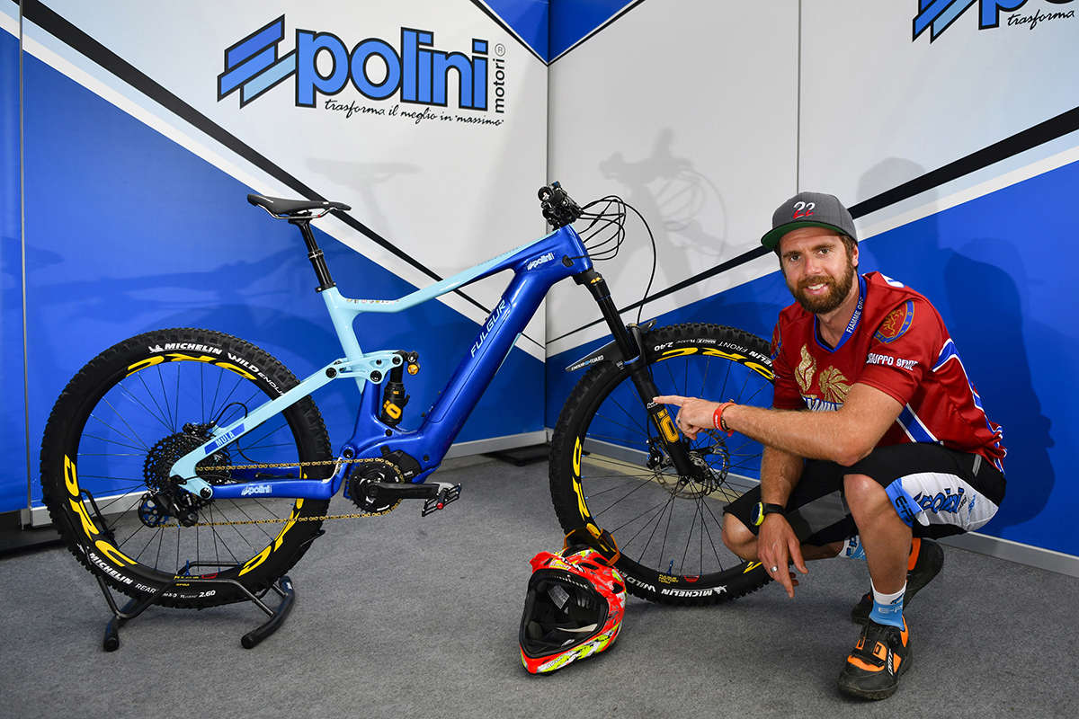 Polini steps into the E-MTB market – Thomas Oldrati swaps engine for pedals