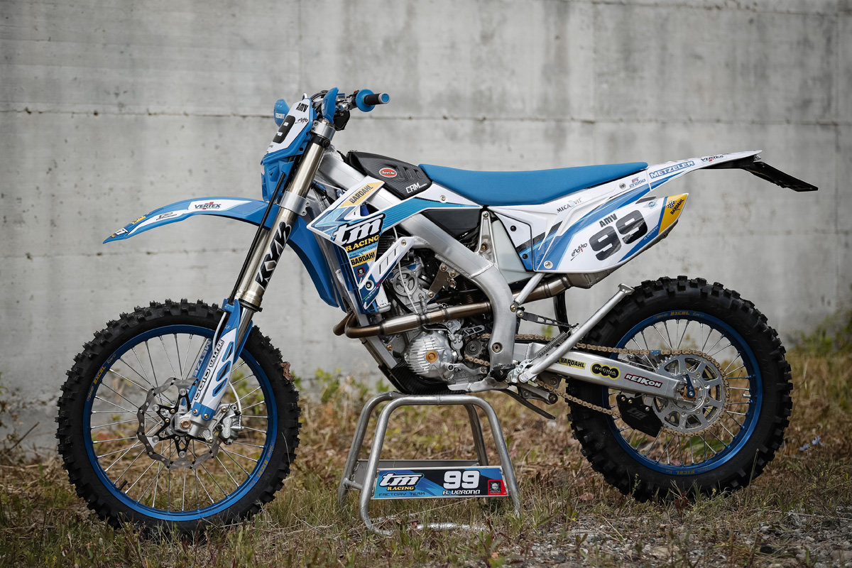 Pro Bike: Andrea Verona's TM Racing EN 250 Fi
