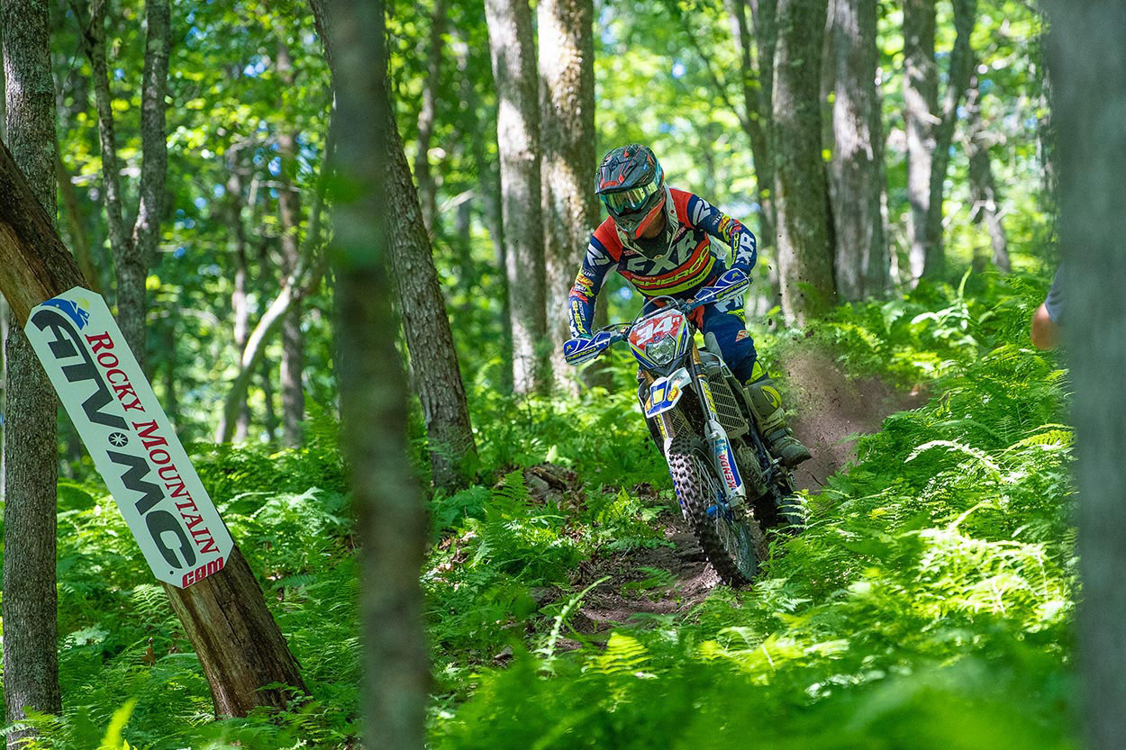 Rattlesnake National Enduro: Win and points lead for Grant Baylor
