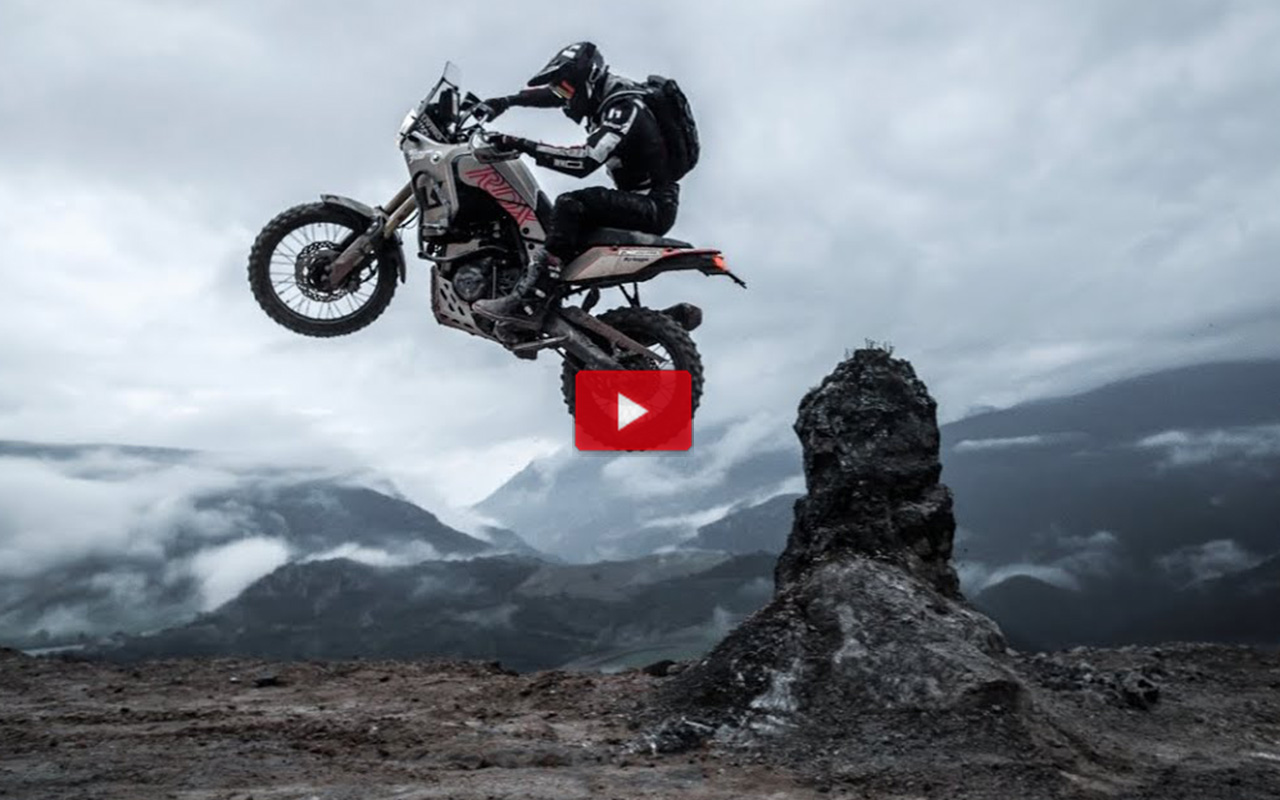 The Seeker Movie: Pol Tarres testing the limits of the Yamaha Tenere 700