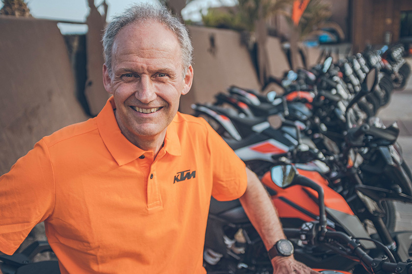 5 Minutes: Joachim Sauer – KTM Off-Road product Manager talks 2021 EXCs