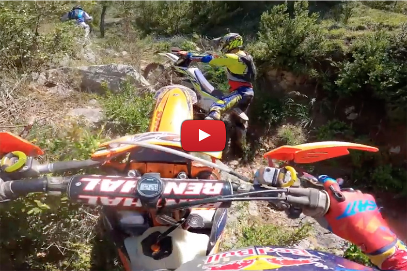 POV: Extreme Enduro training onboard with Jonny Walker, Mario Roman and Alfredo Gomez
