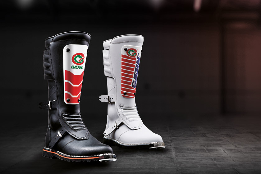 First Look: Gaerne's retro GMX MACH 80 boots