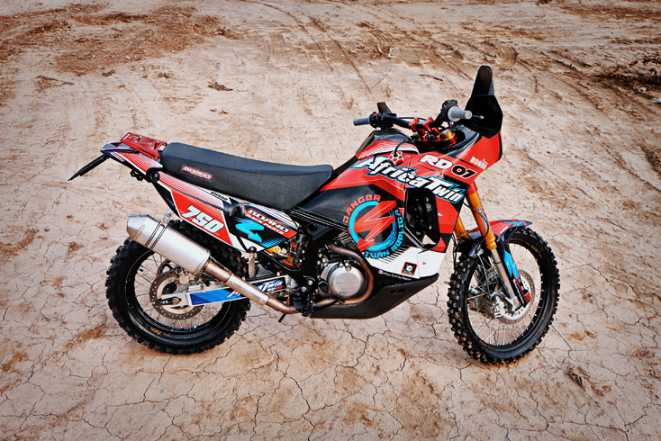 First look: Honda Africa Twin Rally Race kit from Boano