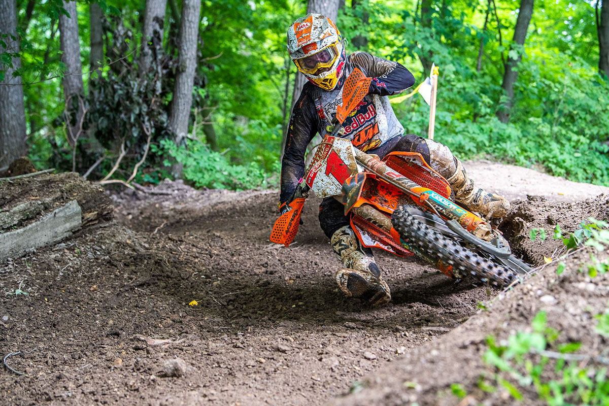GNCC Results: Kailub Russell in beast mode at John Penton