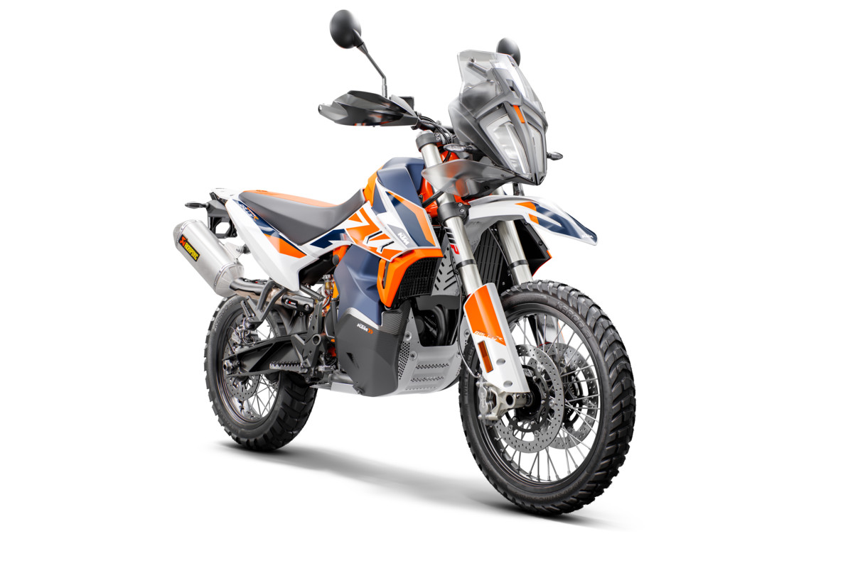 KTM's 790 Adventure R Rally limited edition