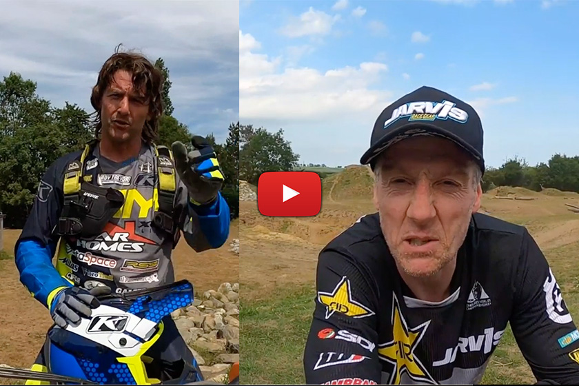 POV: Extreme enduro fight club with Graham Jarvis and Paul Bolton