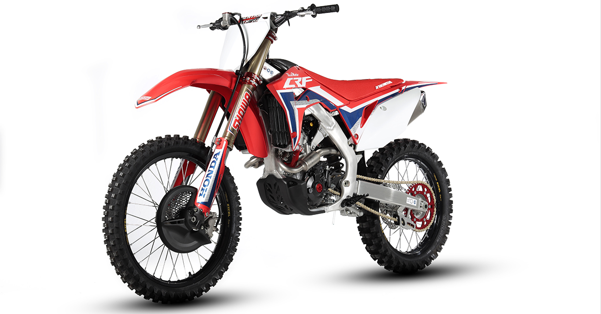 Redmoto Honda's Carbon Edition CRF 250