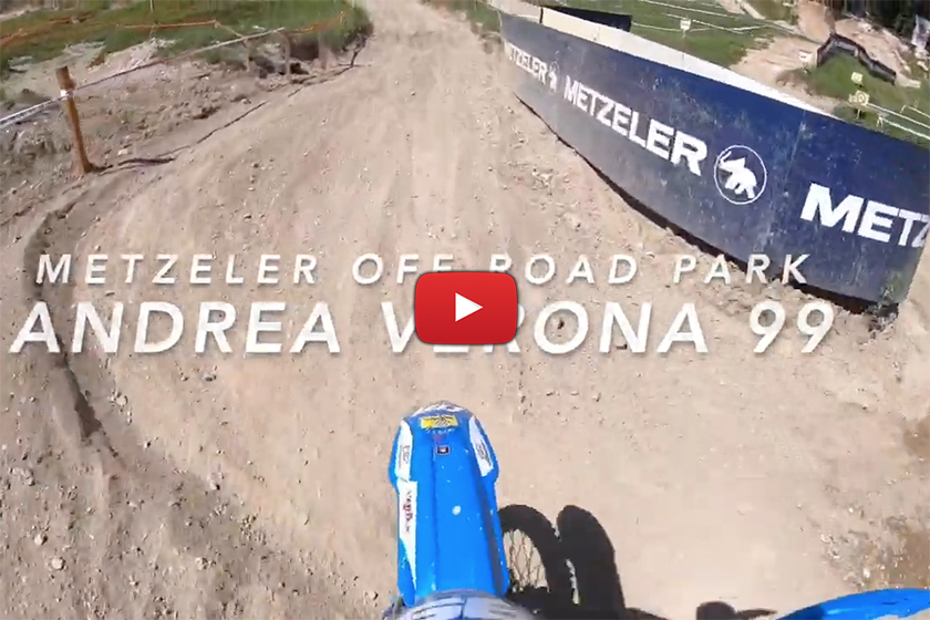 POV: Riding rocky, hard pack enduro tests with Andrea Verona